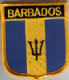 Flag Patch - Barbados 07
